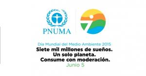 logo día mundial medio ambiente 2015